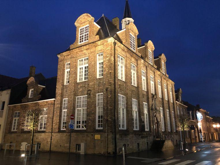 Dit historische gebouw kan je voortaan zien als het donker is