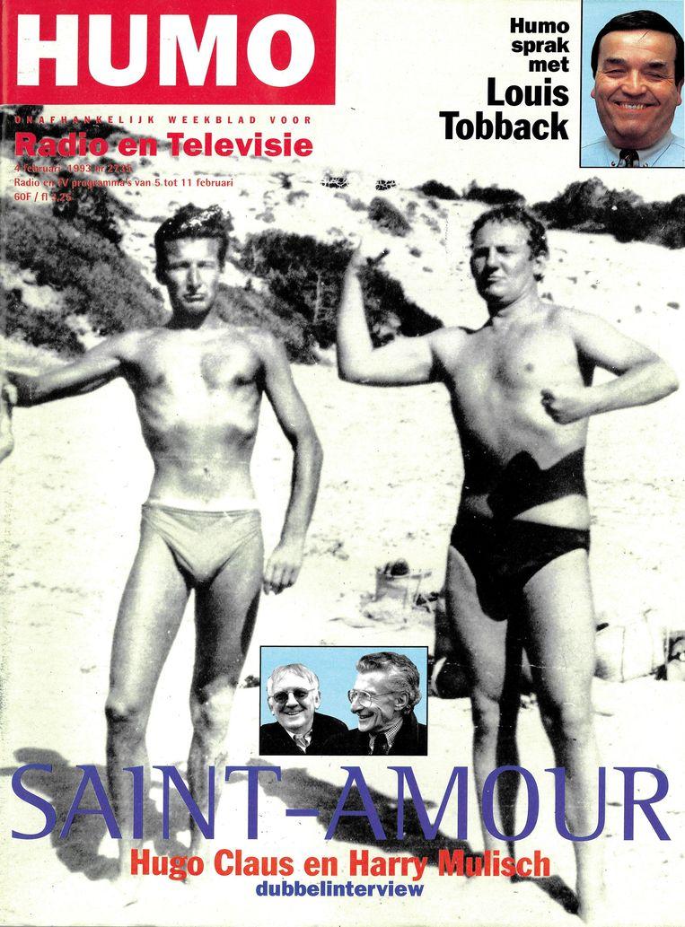 Humo-cover februari 1993 Beeld Humo