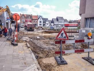 Kruispunten Sint-Medardusplein hersteld met beton