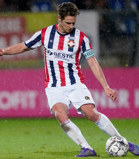 Willem II-captain Peters blij met punt: 'Hier hebben we 92 minuten lang voor gevochten'