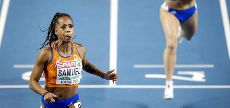 Samuel sprint verrassend naar brons op 60 meter