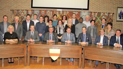 Gemeenteraadsleden en leden bijzonder comité sociale dienst leggen de eed af in Wingene