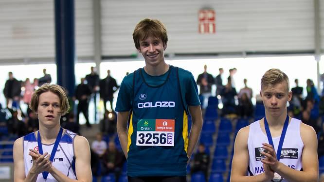 400m-specialist Tibo Malumgré test snelheid op de 200m