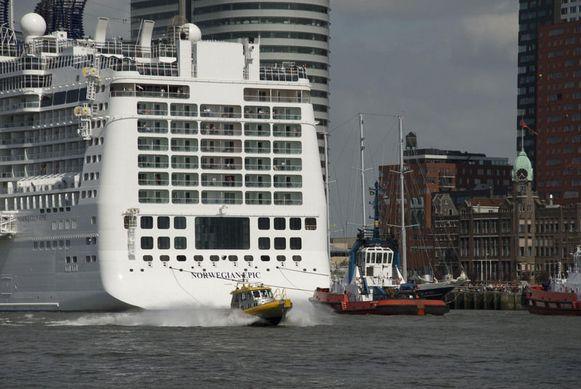 Archiefbeeld van het cruiseschip Norwegian Epic.
