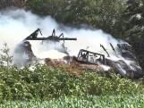 Zorgboerderij Slagharen brandt helemaal uit