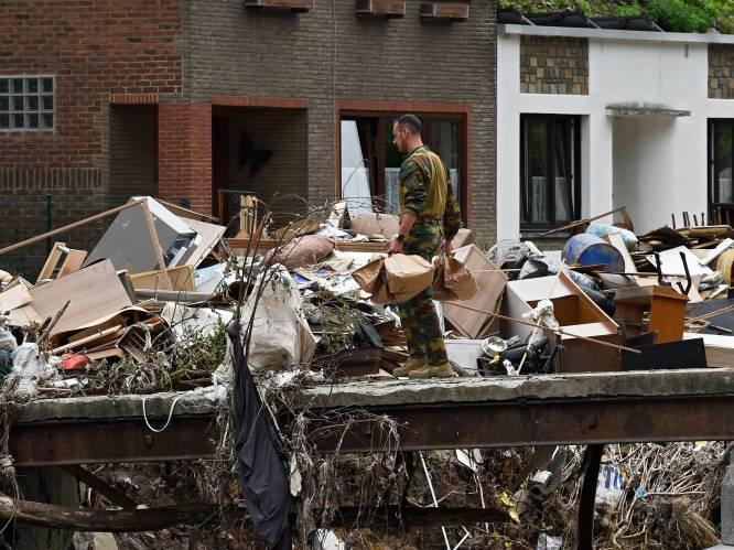 """Na het Rode Kruis is het leger kop van Jut in rampgebied: """"We zijn er wel, maar je ziet ons niet altijd"""""""