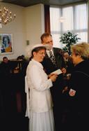 Willem Rietbroek en Resy van Poppel trouwden op 4 april 1996.