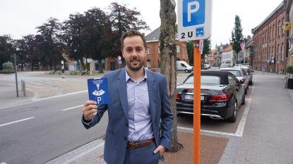 Opnieuw controle in blauwe parkeerzone in centrum van Gistel