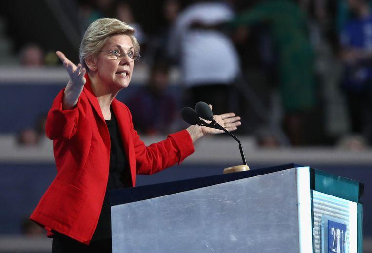 Elizabeth Warren Beeld AFP