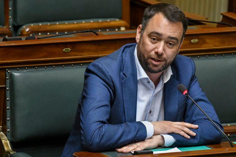 CdH-voorzitter Maxime Prévot. Beeld Photo News