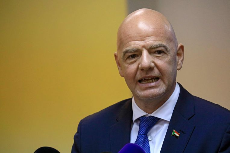 Fifia-voorzitter Gianni Infantino. Beeld AFP