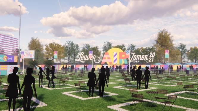 """Leuven Air geeft de zomer kleur: """"Drie concerten per week met capaciteit voor 1.800 toeschouwers"""""""