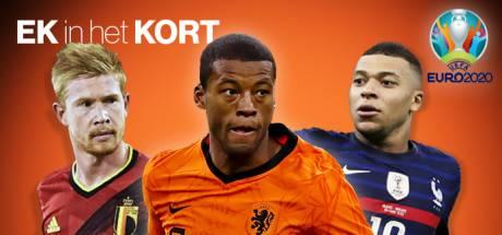 EK kort | Kanté evenaart fraai record, Verratti gaat spelen bij Italië in laatste groepsduel