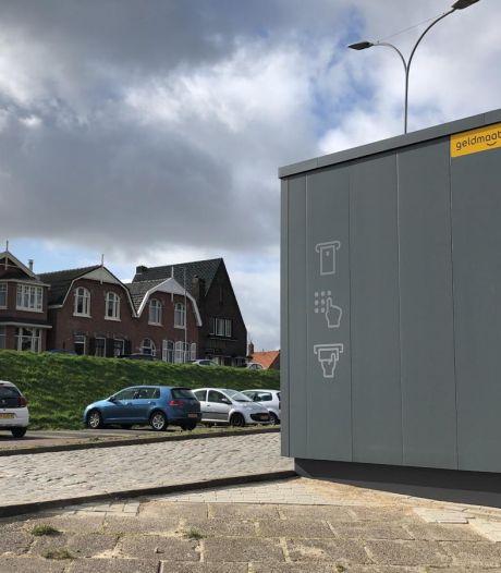 Tholenaren boos om plaatsing geldautomaat: 'We zijn de helft van het zicht op de haven kwijt'