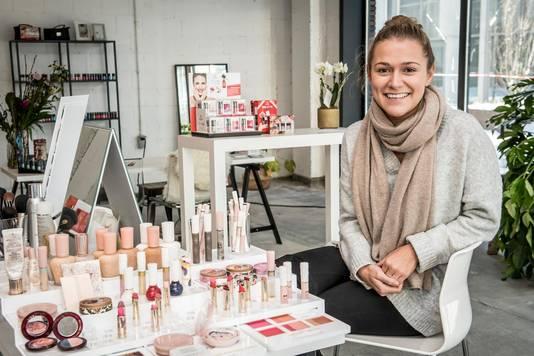 Lieselot Van Heyste van schoonheidssalon Ellen Vandamme.