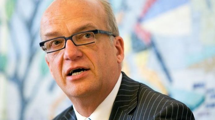 Waarnemend burgemeester Harry de Vries