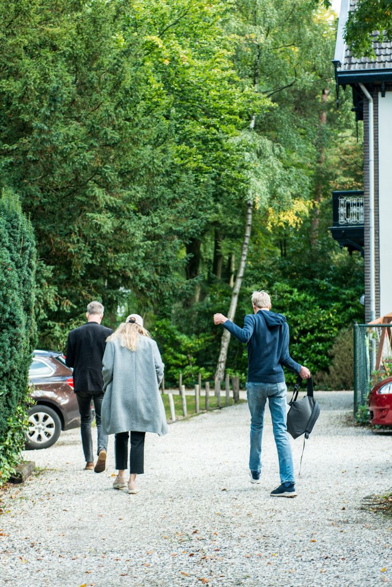 Boris met zijn ouders. Beeld Linelle Deunk