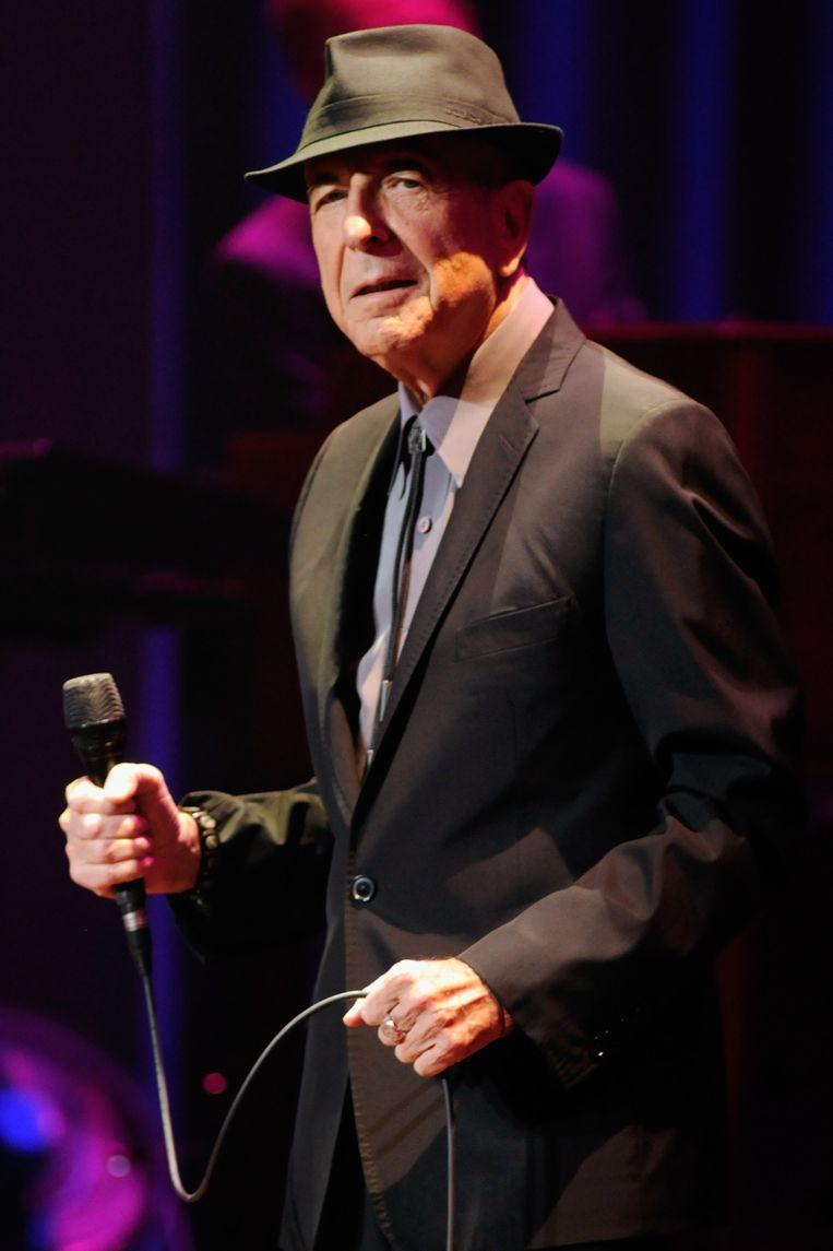 Zelfs Leonard Cohen kende pas in uitgesteld relais succes met zijn romans. Beeld GETTY