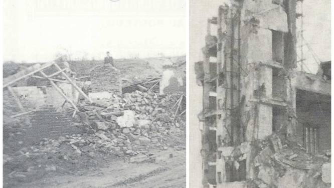 """Hoe Rieme plat werd gebombardeerd tijdens WOII: """"Een maanlandschap, zo zag het dorp er nog uit"""""""