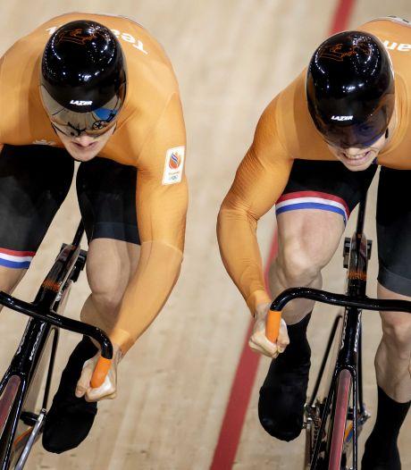 Hoogland en Lavreysen op EK weer teamgenoten én rivalen: 'We zijn elkaar nog lang niet zat'