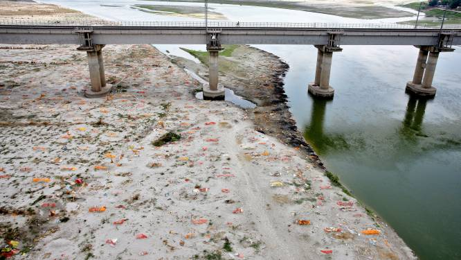 Covid dreigt Ganges nog meer te vervuilen