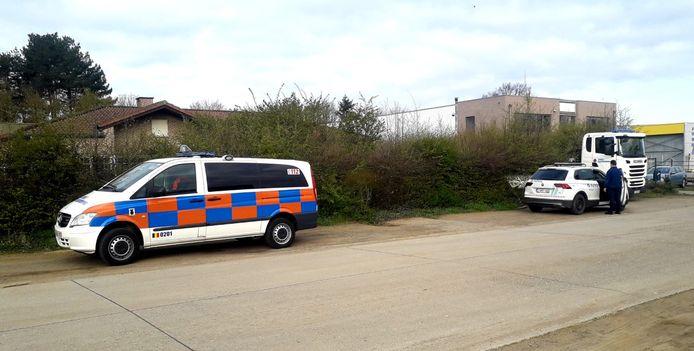 Politie en civiele bescherming kwamen ter plaatse