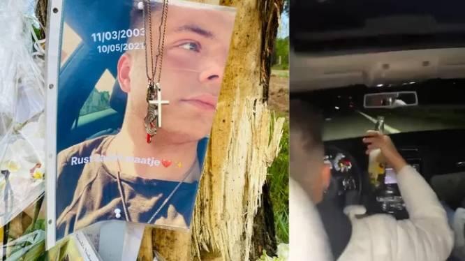 216 km/h, une bouteille d'alcool à la main: la conduite inconsciente du jeune conducteur qui a provoqué la mort de Tibau, 18 ans