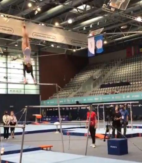 Le doublé pour Nina Derwael, médaillée d'or à la poutre en Coupe du monde de gymnastique