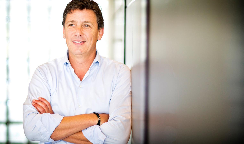 Jacco Vonhof van schoonmaakbedrijf Novon is tegelijk ook voorzitter van MKB Nederland.