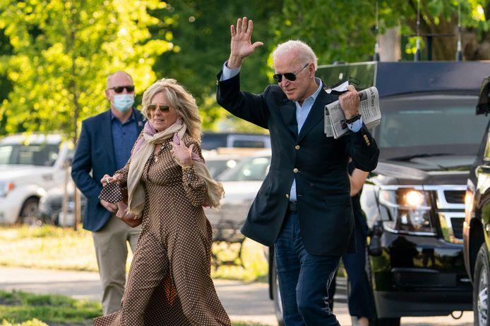 President Joe Biden en zijn vrouw Jill.