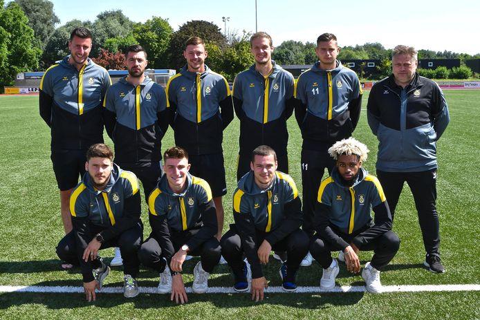 Negen van de tien  nieuwkomers met trainer Pascal Verriest.