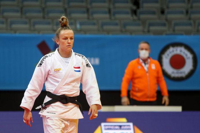De Groesbeekse judoka Geke van den Berg.