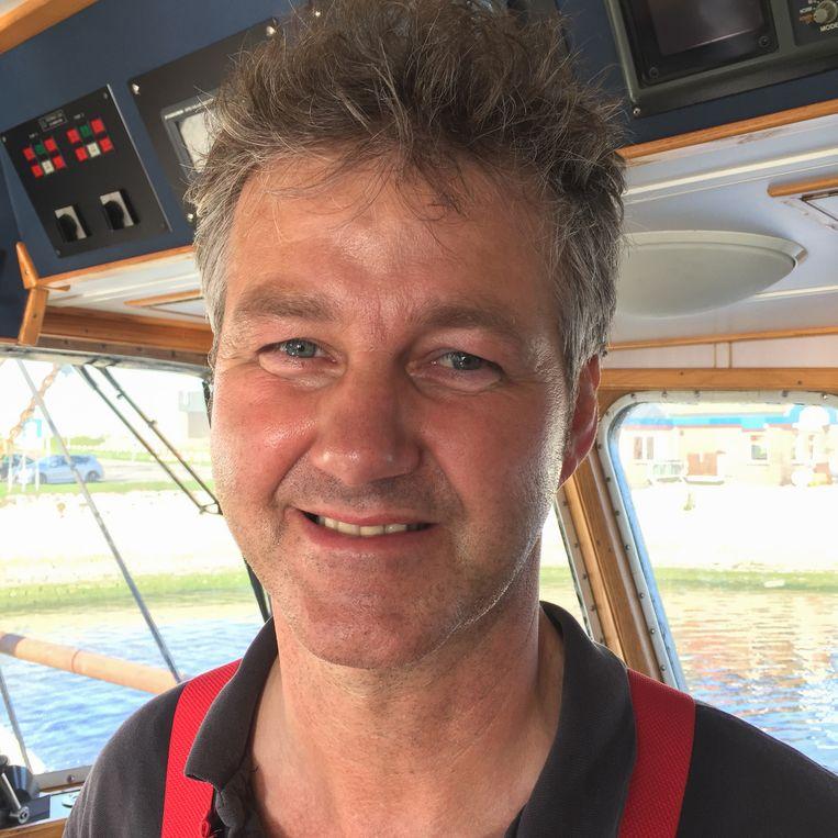 Job Schot (53) vreest het einde van het vissen. Beeld