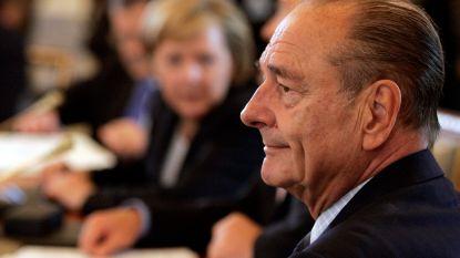 """Macron noemt Chirac """"staatsman van wie wij evenveel hielden als hij van ons hield"""""""