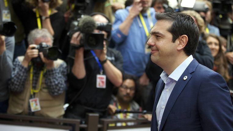 Alexis Tsipras Beeld BELGA
