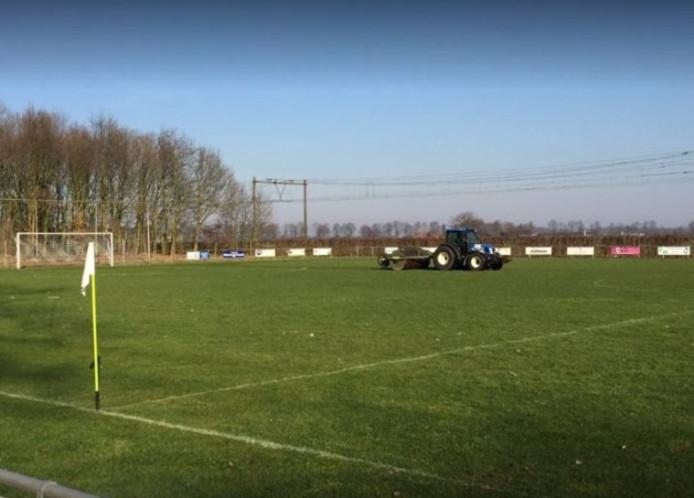 Het voormalige sportpark in Griendtsveen