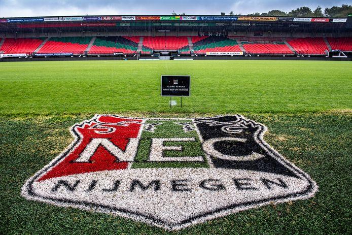 Het stadion van NEC.