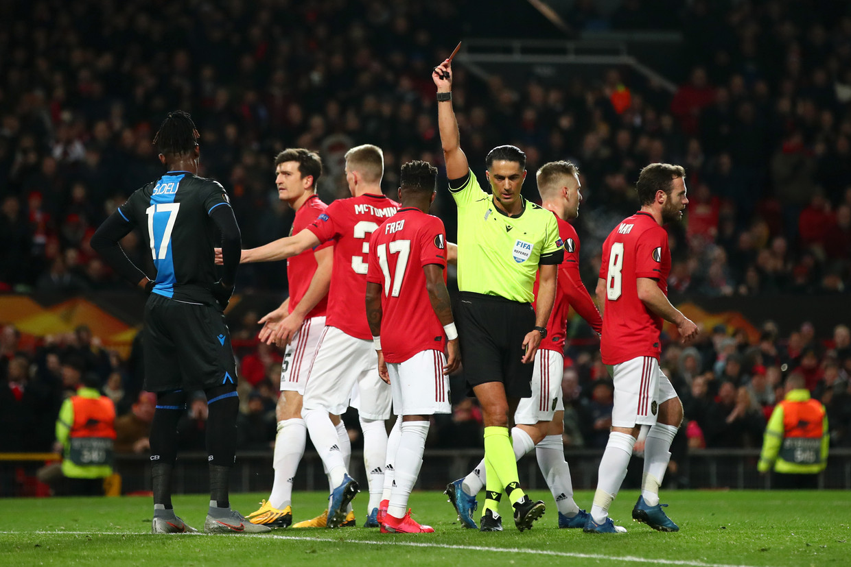 Manchester United - Club Brugge Beeld Getty Images