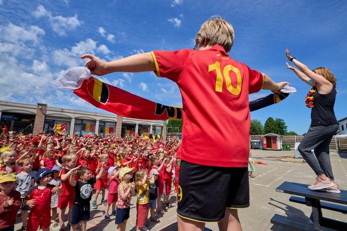 Bierbeek, Belgium - June 09 :   Red Challenge Bierbeek Gemeenteschool 't Klavertje  June 09, 2021 in Bierbeek, Belgium, 09/06/2021 ( Photo by Vincent Duterne / Photonews