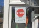 Protest tegen de Spoordijk-plannen.