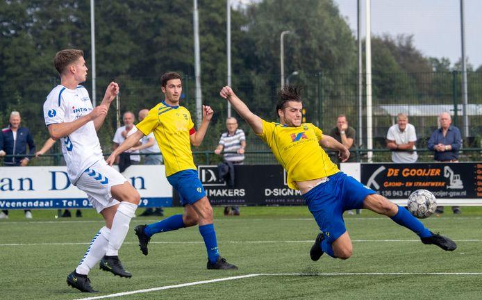 VRC (gele shirts) treft in de volgende bekerronde hoofdklasser Eemdijk.