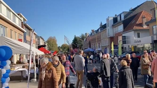 """Feest in het midden van 't straat! Wolvertemsesteenweg weer open: """"Misschien is dit het begin van een jaarlijkse traditie"""""""