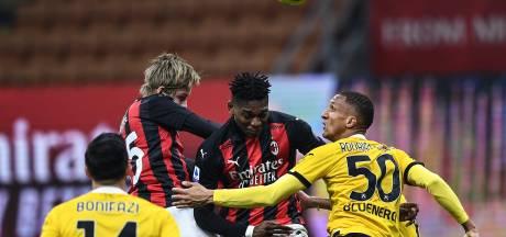 L'AC Milan de Saelemaekers piétine à domicile face à Udinese