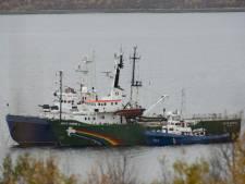 Nog geen juridische stappen tegen Rusland om Greenpeace