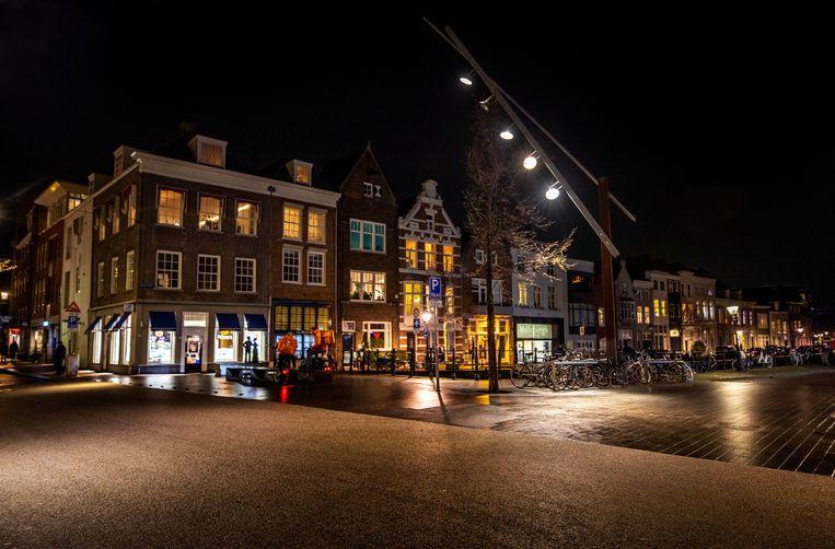 Smalle haven in Den Bosch. Beeld Raymond Rutting / De Volkskrant