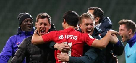 Vertrekkende Nagelsmann bereikt bekerfinale met RB Leipzig