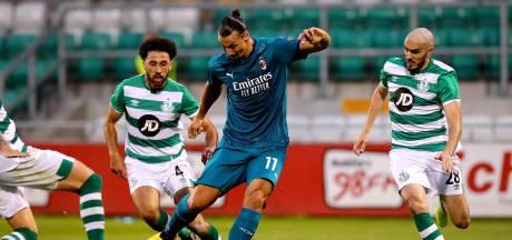 Ibrahimovic helpt AC Milan aan zege op Shamrock Rovers en maakt jonge fan blij