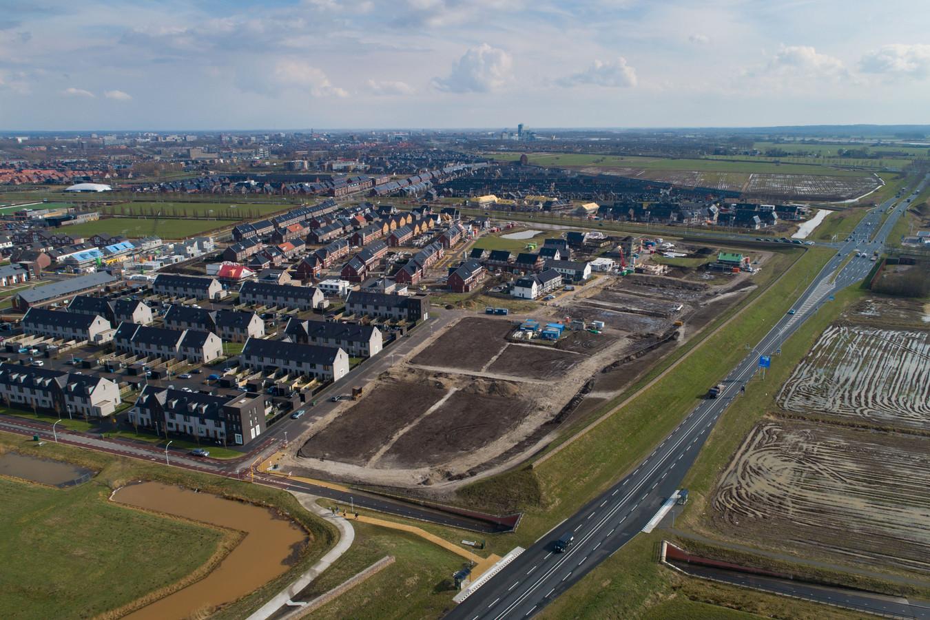 In Zwolle zijn de afgelopen jaren de meeste nieuwbouwhuizen gebouwd.