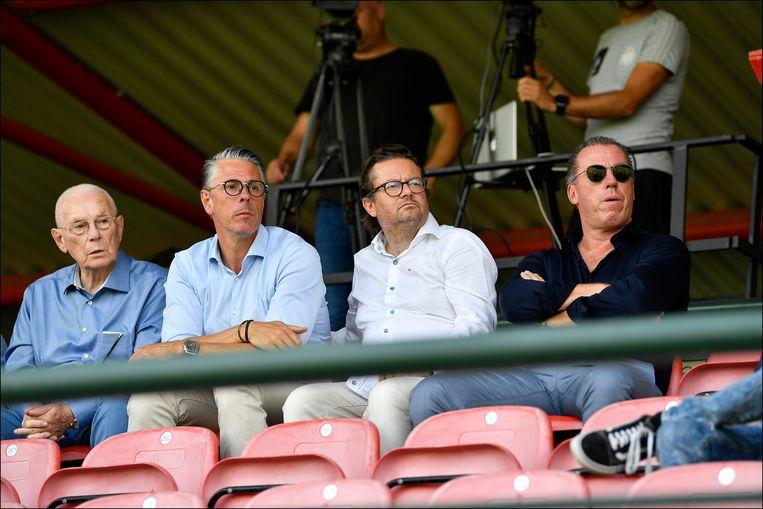 Michel Verschueren: 'Ik ben blij dat Marc Coucke ons heeft overgenomen. Liever een Belg aan het hoofd van Anderlecht dan een Rus, Chinees of Japannees.' Beeld Photo News