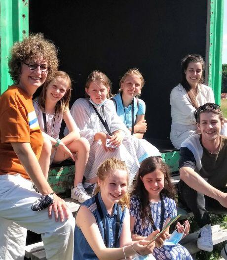 Vijfde leerjaar Sint-Andreasinstituut wint publieksprijs op JEF Makersfestival